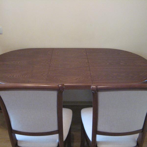 стол Соло 120 (155)*80 и стулья Кабриоль-М
