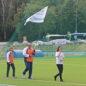 Церемония открытия IV летней спортекиады ИНТЕР РАО Электрогенерация