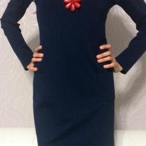 Мое новое теплое платье.