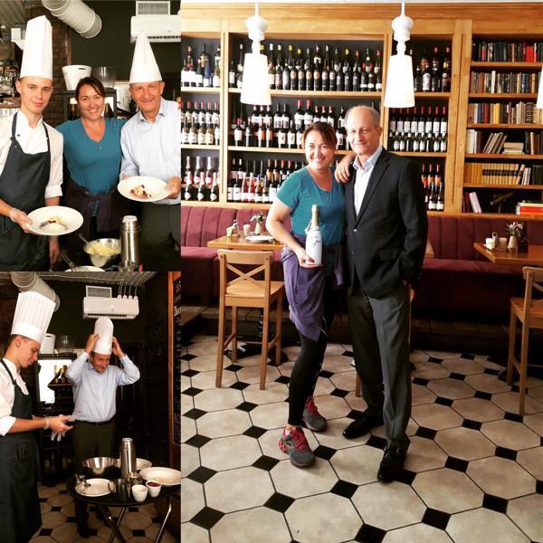 """Директор по экспорту шампанского дома Лансон в гостях у """"Библиотеки"""""""