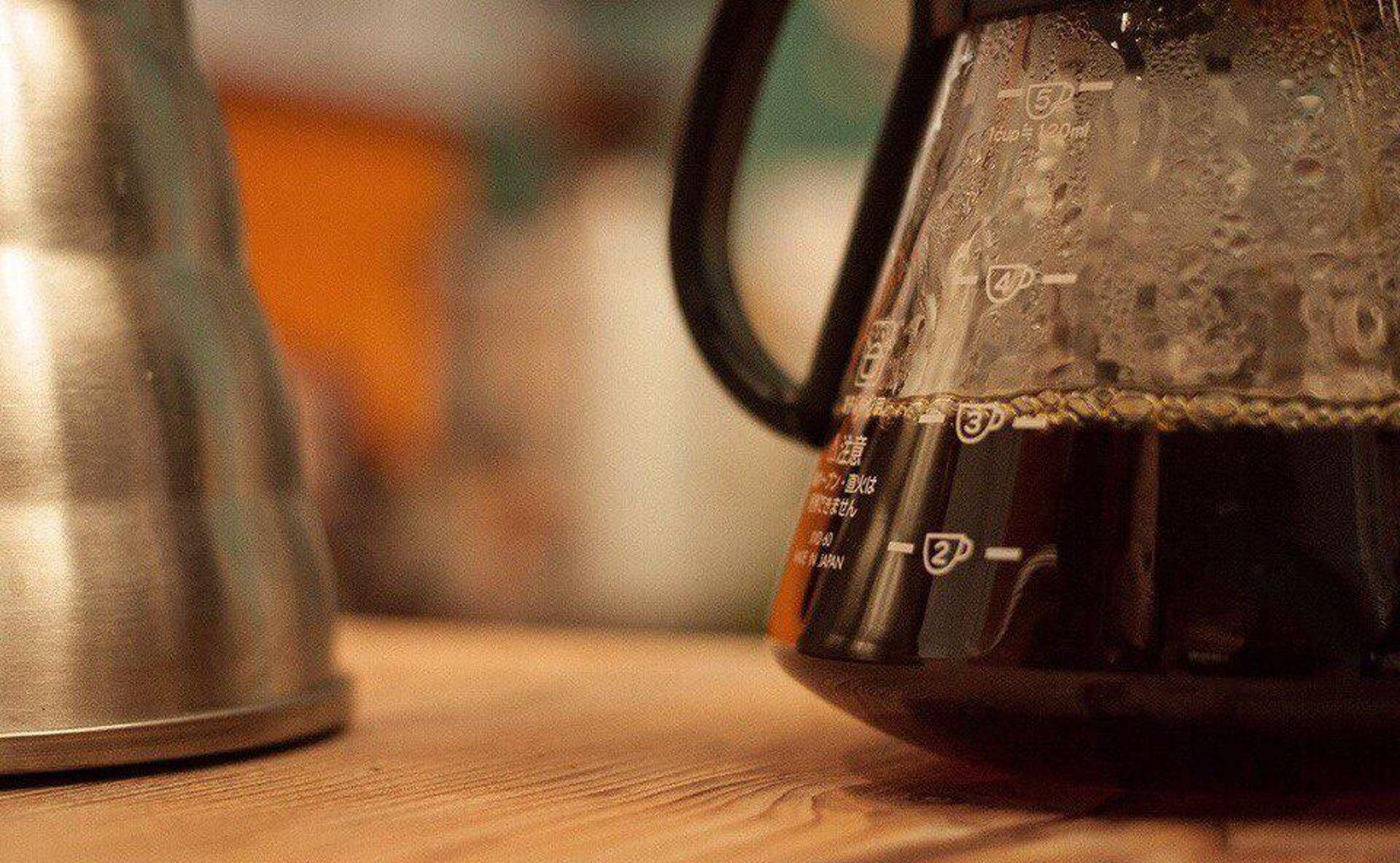 Идём на мастер-класс по альтернативному завариванию кофе