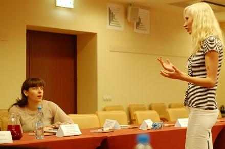 Саша Рудаковская, Фламп (справа)