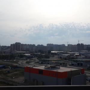 Хилтон-Красноярск, панорама из окна